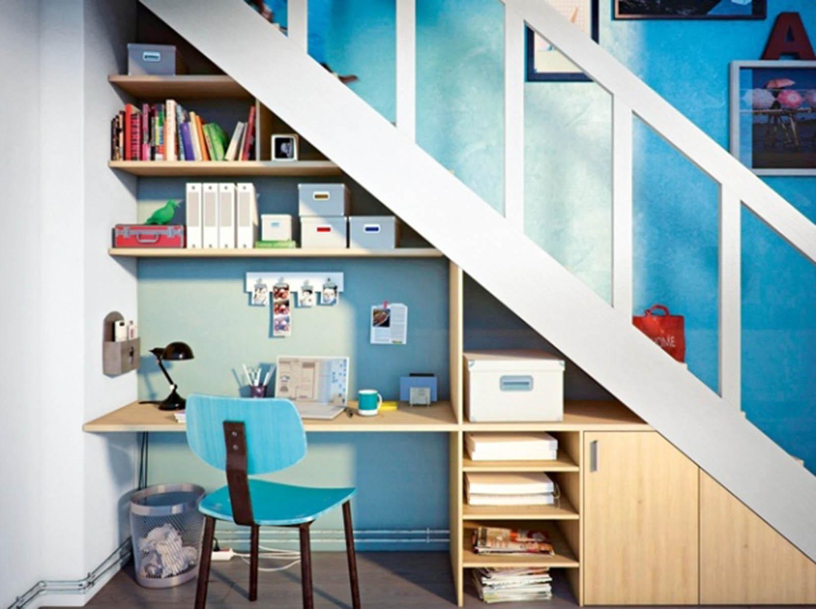 Aménager l'espace sous un escalier   viving