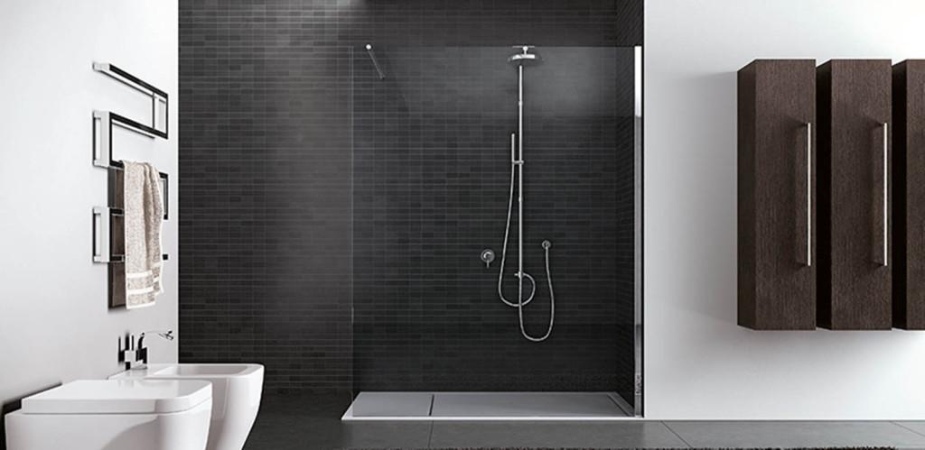 source douche italienne bien choisir une paroi de douche - Salle De Bain Avec Douche A L Italiene