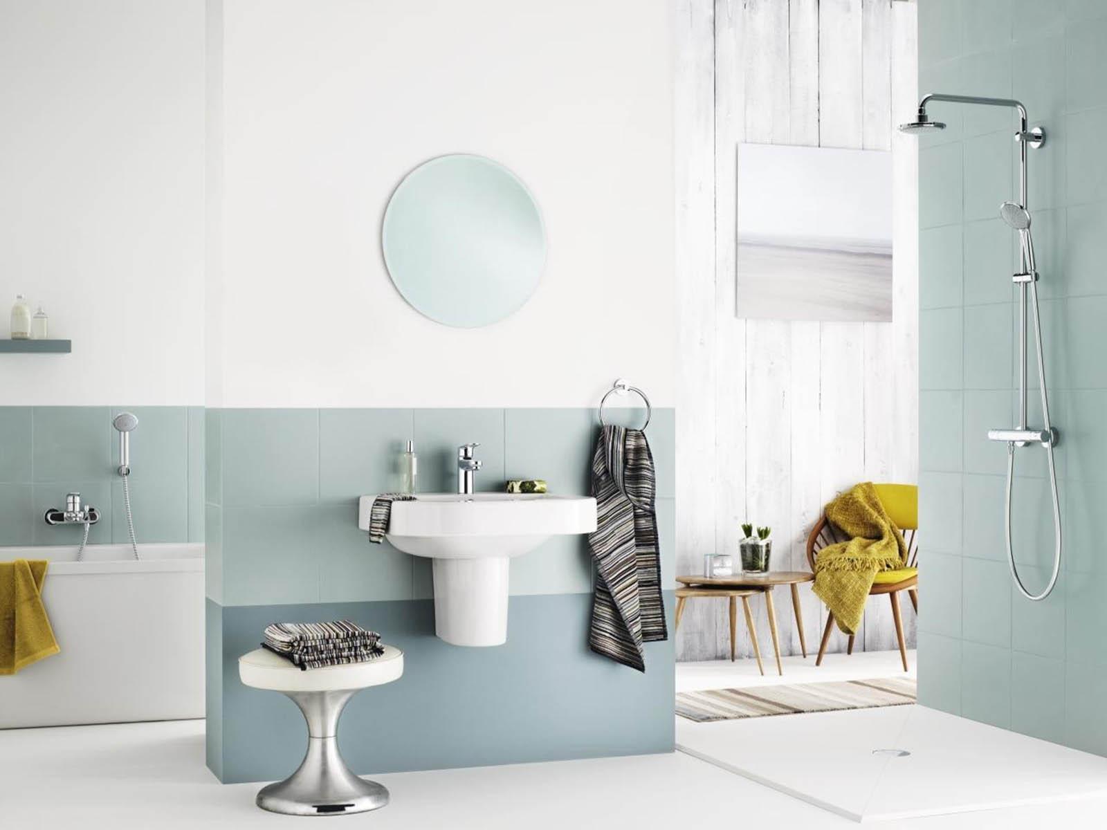 bois ou carrelage pour le sol de la salle de bain viving. Black Bedroom Furniture Sets. Home Design Ideas