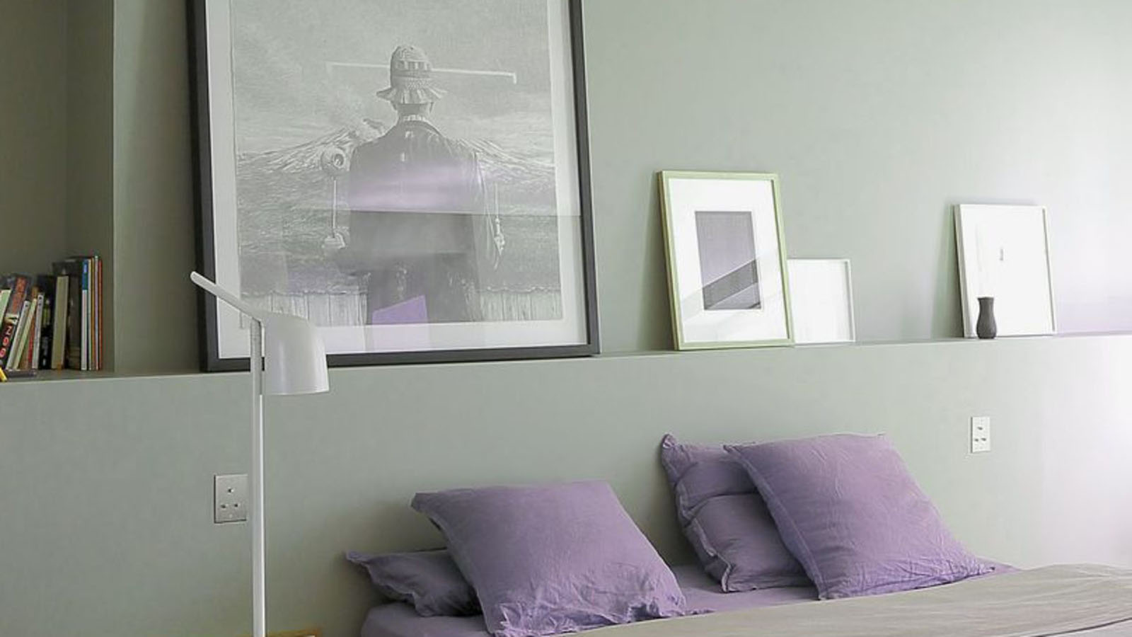 Peinture chambre gris une chambre rose et gris lit gris - Peinture grise pour chambre ...