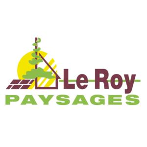 logo le roy paysages nouveau modele carré