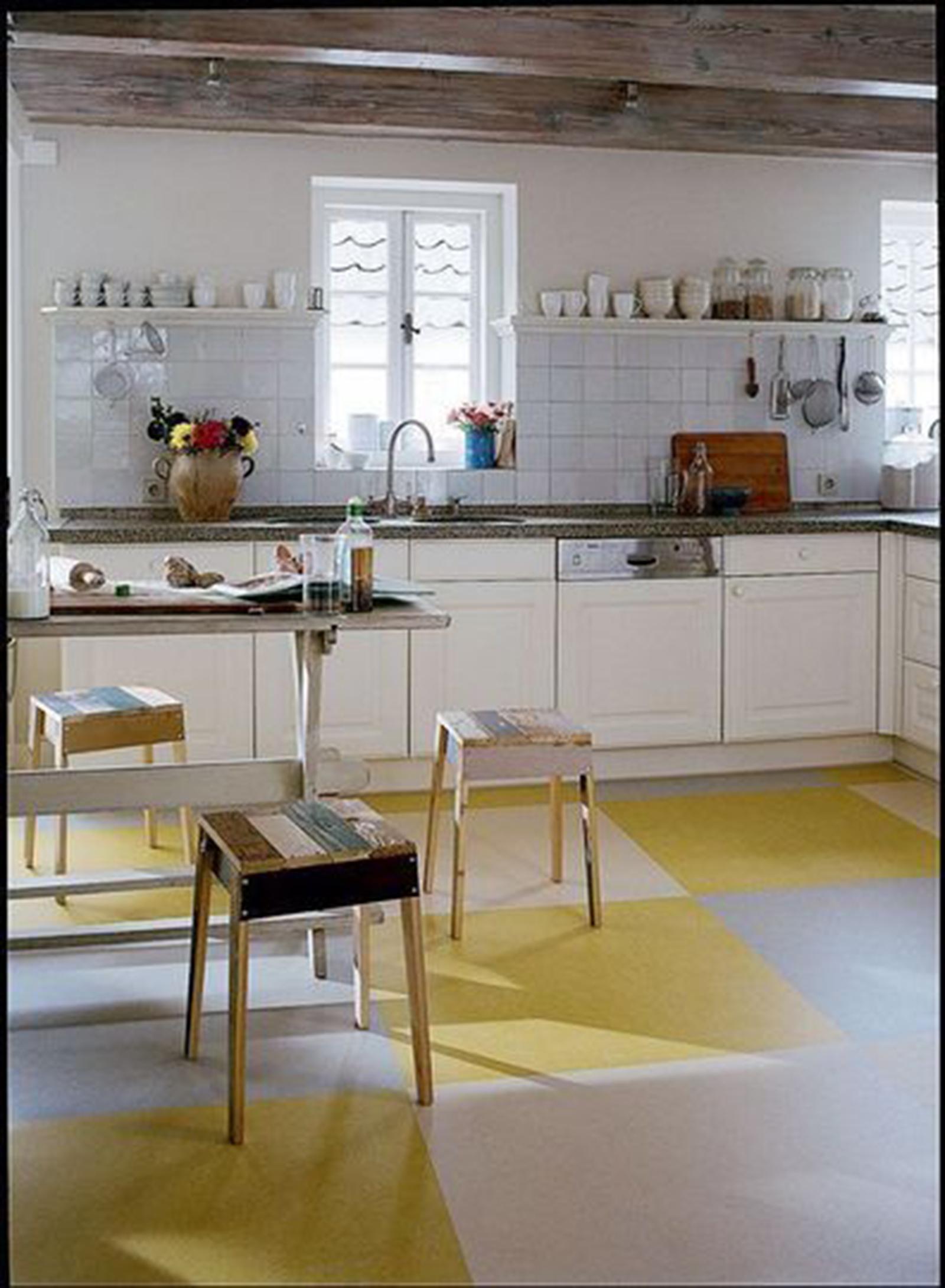 Revetement sol cuisine forbo viving - Revetement de sol cuisine ...