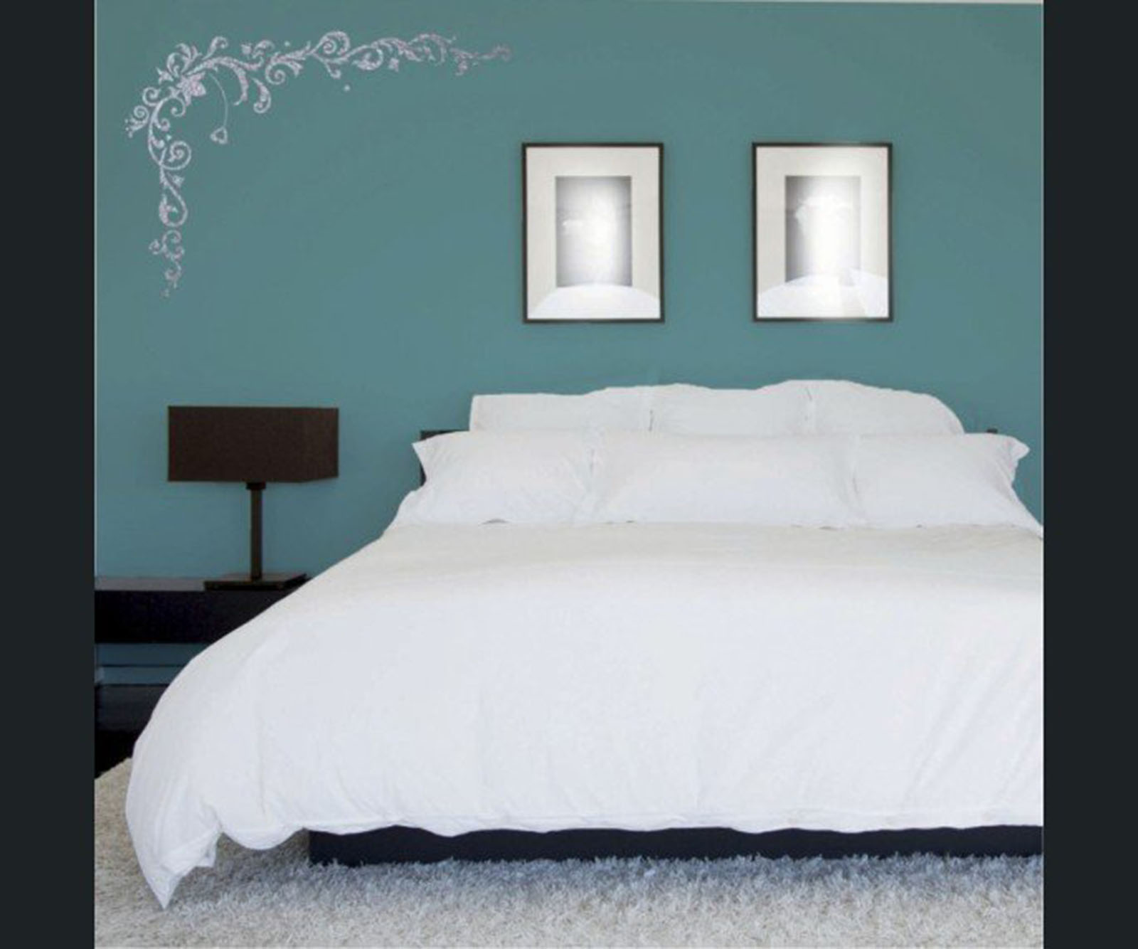 les couleurs de la nuit pour une chambre coucher viving. Black Bedroom Furniture Sets. Home Design Ideas
