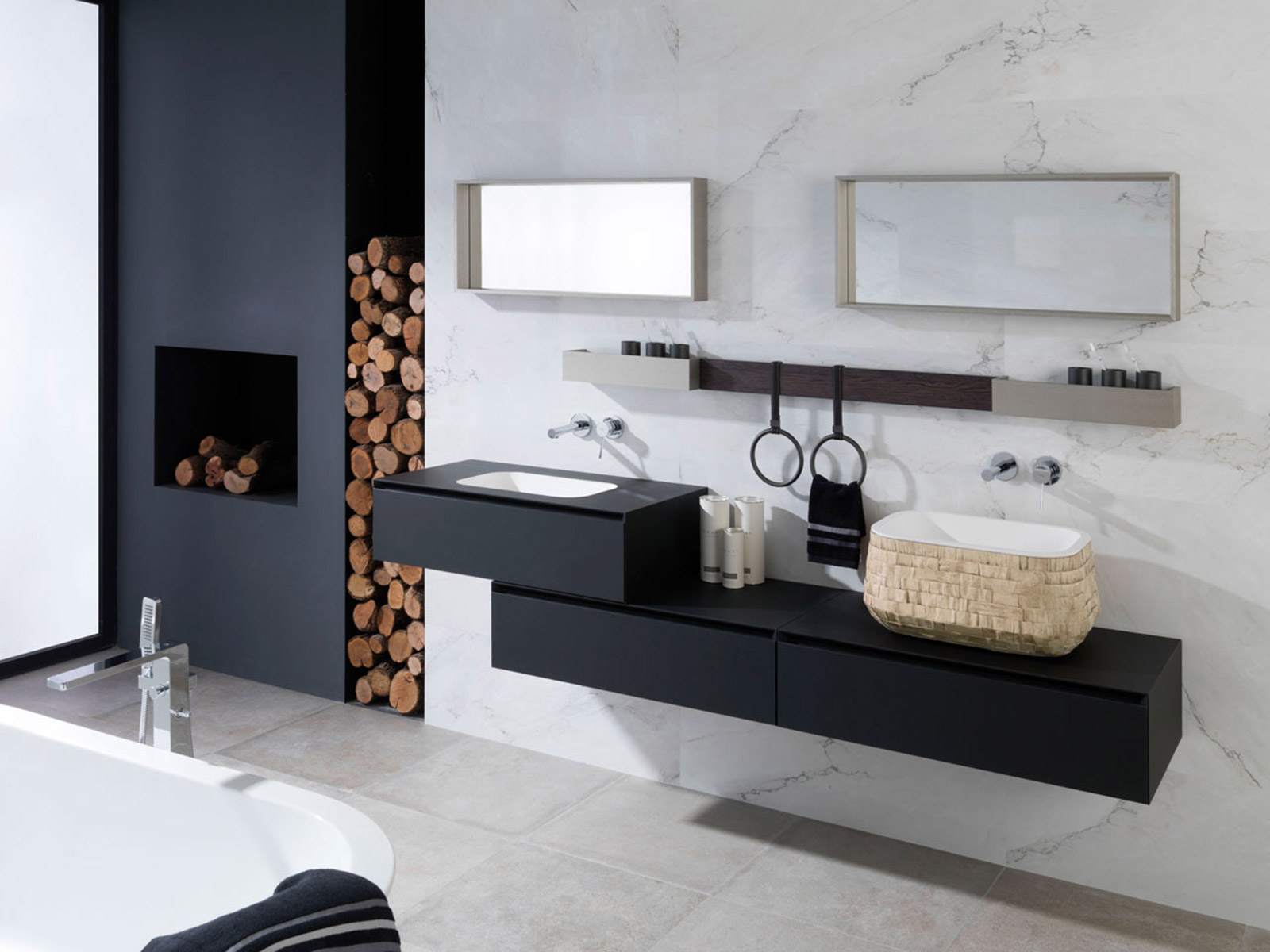 carrelage porcelanosa viving. Black Bedroom Furniture Sets. Home Design Ideas
