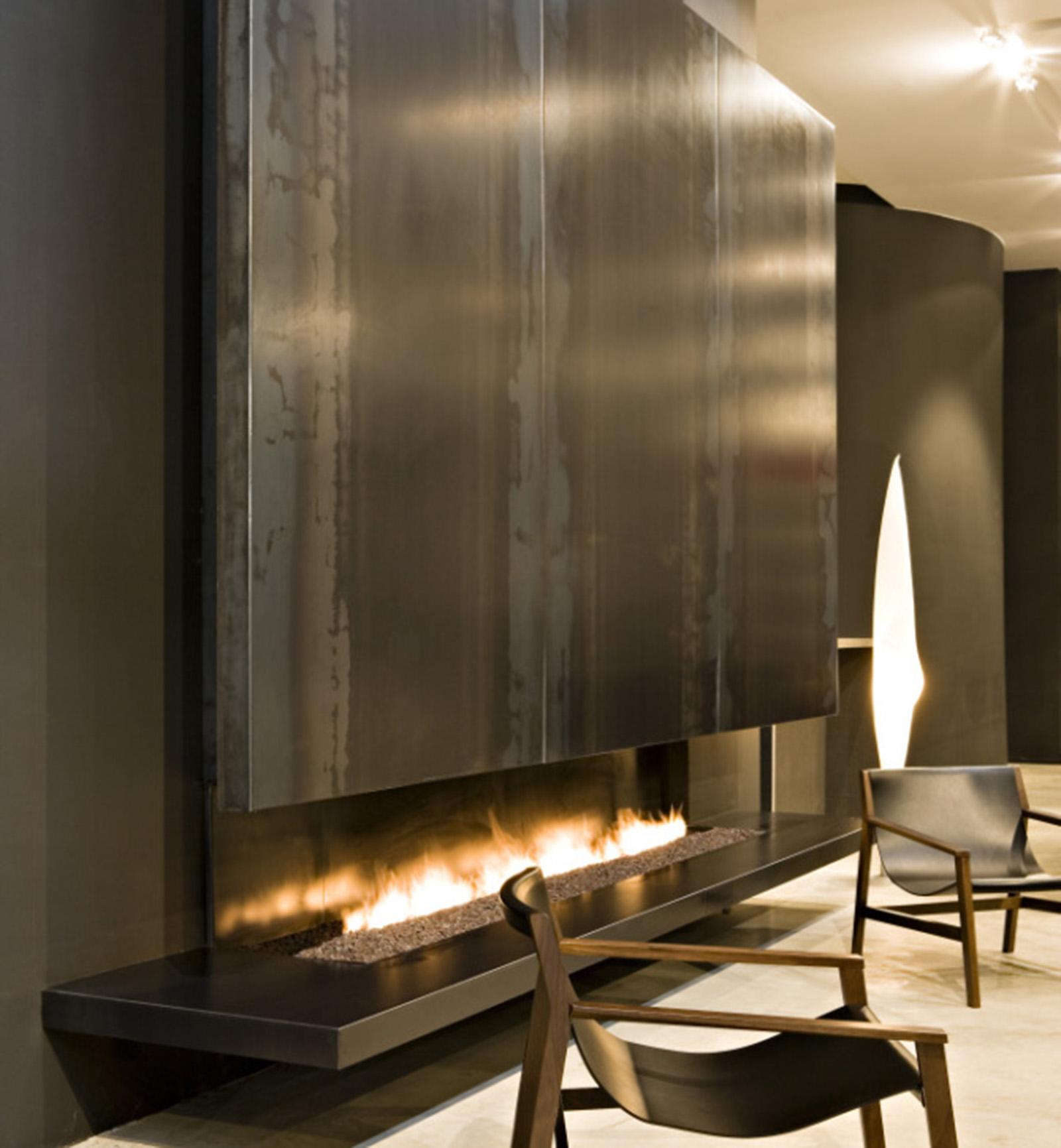cheminee au gaz waco viving. Black Bedroom Furniture Sets. Home Design Ideas