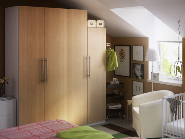 Am nager un dressing dans une chambre viving - Ikea amenagement dressing ...