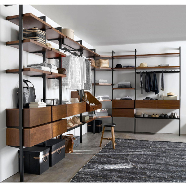 am nager un dressing dans une chambre viving. Black Bedroom Furniture Sets. Home Design Ideas