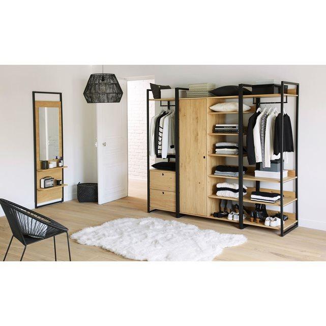 am nager un dressing dans une chambre viving. Black Bedroom Furniture Sets. Home Design Ideas