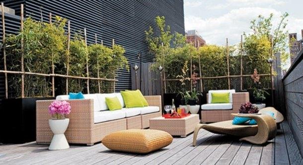 Transformer sa petite terrasse en jardin - Viving