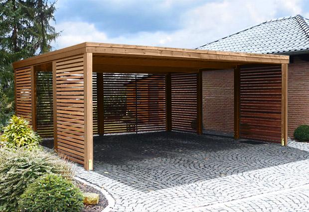 Quels mat riaux pour construire un carport viving - Construire un carport ...