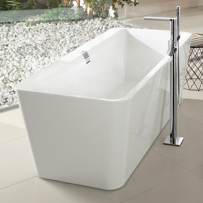 baignoire ilot beton de synthese interesting cuna de agape design patricia urquiola u baignoire. Black Bedroom Furniture Sets. Home Design Ideas
