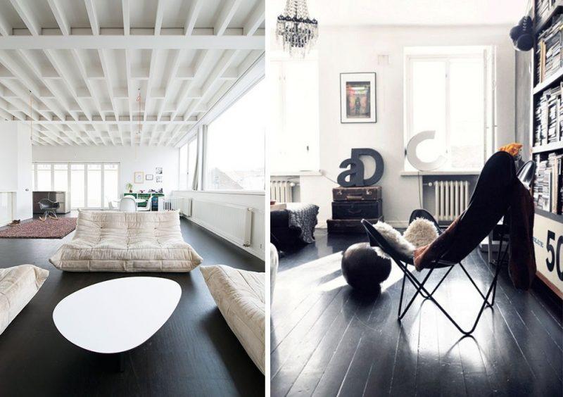 peindre son parquet les bons r flexes viving. Black Bedroom Furniture Sets. Home Design Ideas